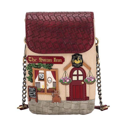 The Swan Inn Pub Phone Pouch