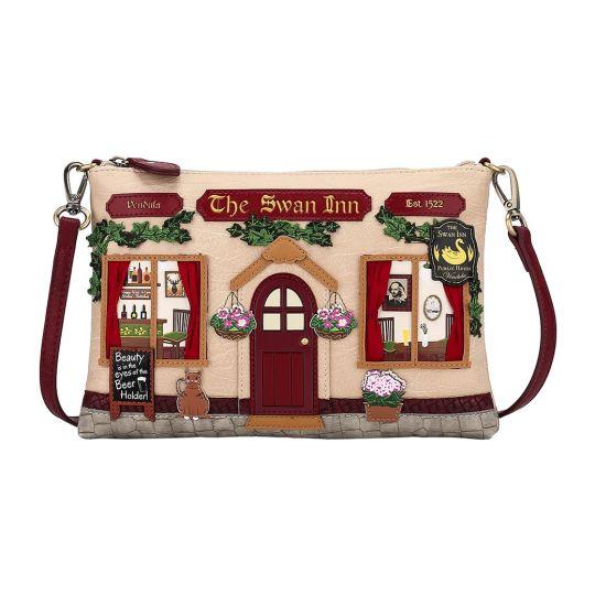 The Swan Inn Pub Pouch Bag