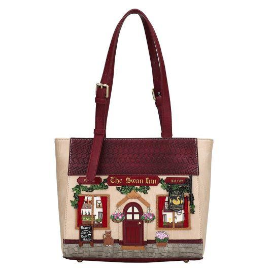 The Swan Inn Pub Shopper Bag