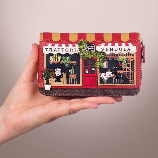 Vendula Trattoria Medium Ziparound Wallet