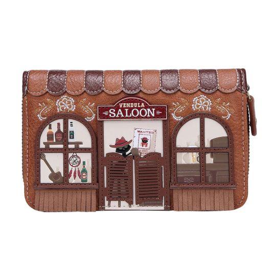 Vendula Saloon Medium Ziparound Wallet