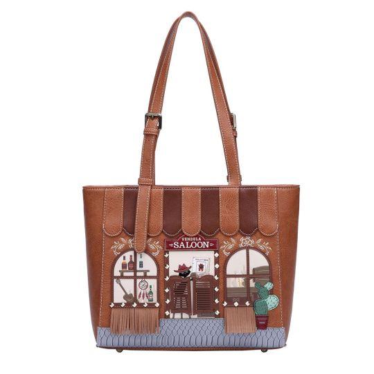 Vendula Saloon Shopper Bag