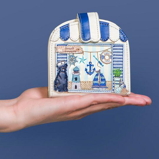 Vendula Seaside Souvenirs Clipper Coin and Card Wallet