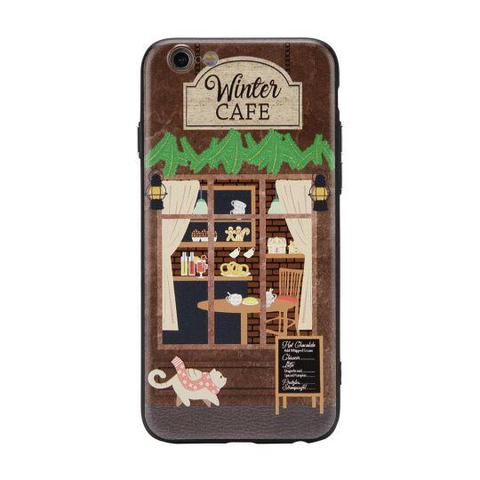 Winter Café Phone Case