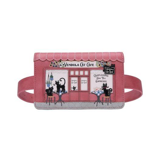 Vendula Cat Café Belt Bag