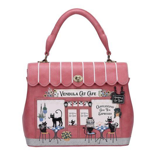 Vendula Cat Café Grace Bag
