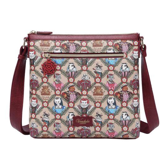 Vendula Heritage: Tudor Flat Crossbody Bag