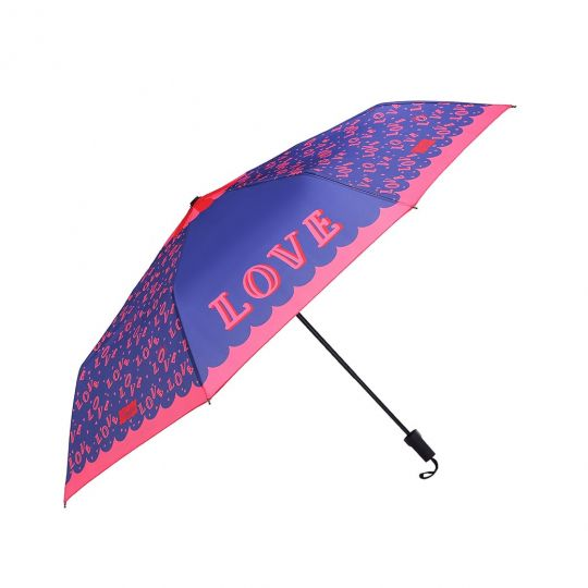 Ombrello Blu Scuro Vendula Love