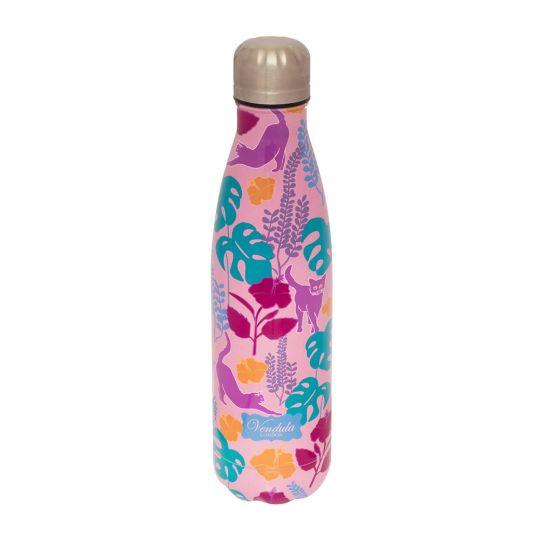 Vendula Move Pink Insulated Water Bottle 500ml
