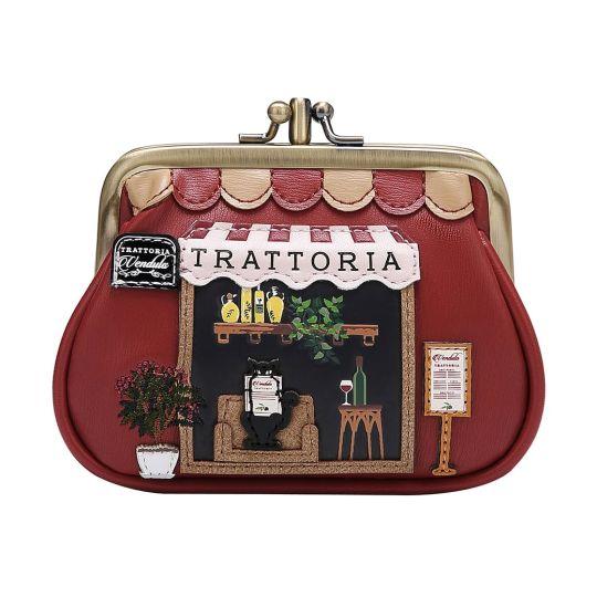 Vendula Trattoria Geldbörse mit Clip-Rahmen