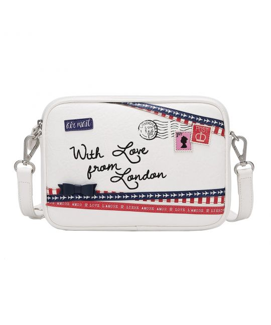 Air Mail Small Crossbody Bag