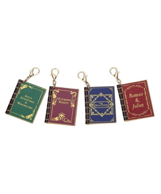 Set of 4 Charms – Vintage Books