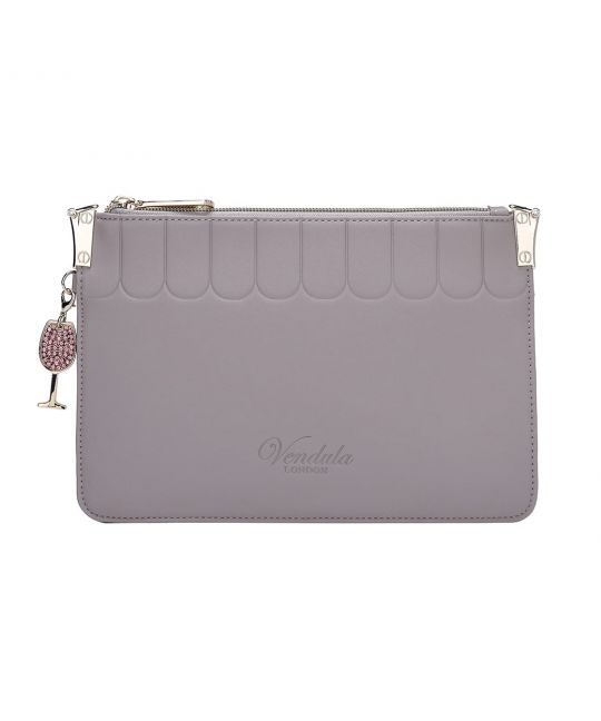 Borsa Pochette Colour Pop-Grigio