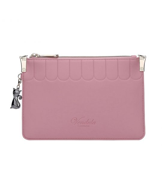 Colour Pop Pouch Clutch-Pink