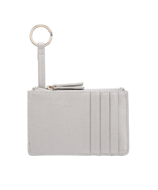 Colour Pop Card and Coin Zipper-Silver