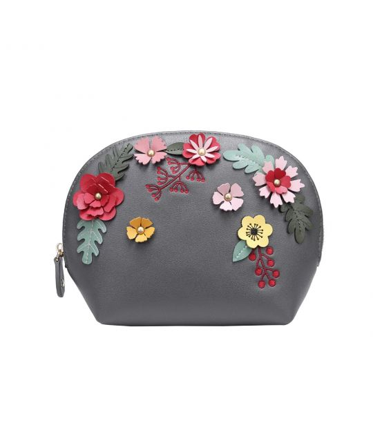 Woodland Floral Cosmetic Bag
