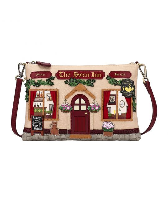 The Swan Inn Pub Pouch Bag