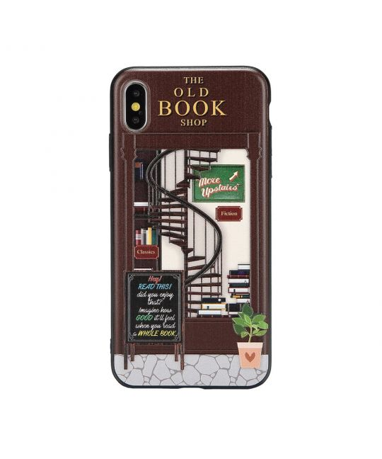 Old Book Shop Phone Case