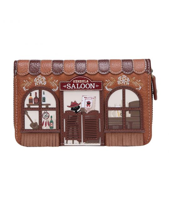 Vendula Saloon Medium Ziparound Wallet