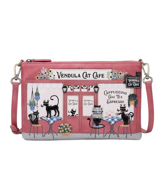 Sac Pochette Vendula Cat Café