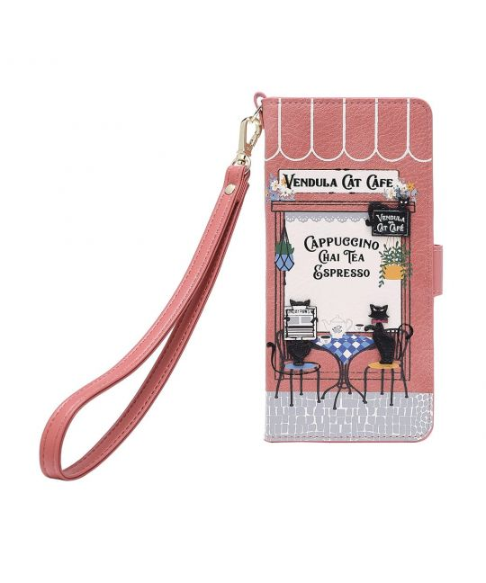 Vendula Cat Cafe - Universal Flip Phone Case