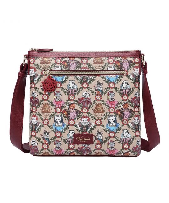 Vendula Heritage: Tudor Flat Crossbody Bag