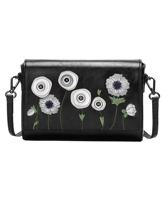 Sac Pochette White Poppy