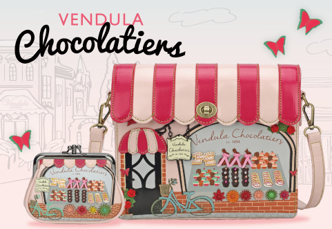 Vendula London Chocolatiers range