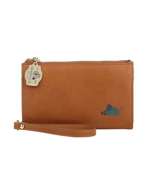 Folded Wallet with Zip Fastening - A Cat's World