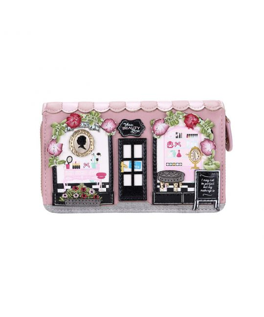 Beauty Lounge Medium Ziparound Wallet
