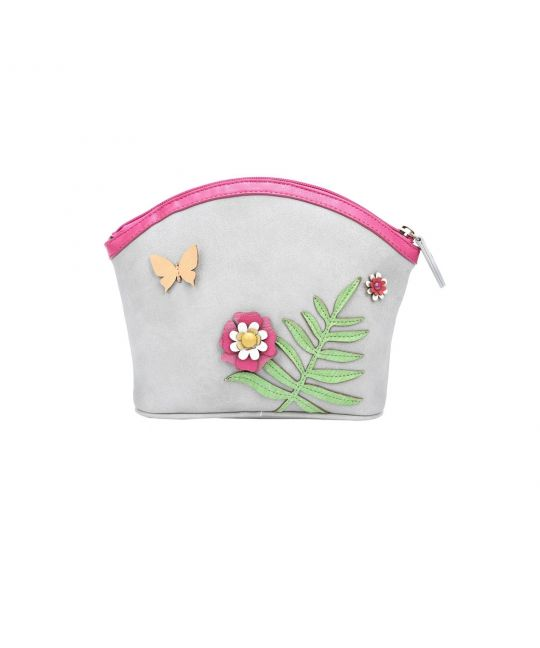 Frida's Garden Cosmetic Bag