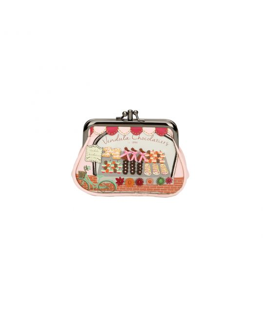 Vendula Chocolatiers Coin Purse with Clip