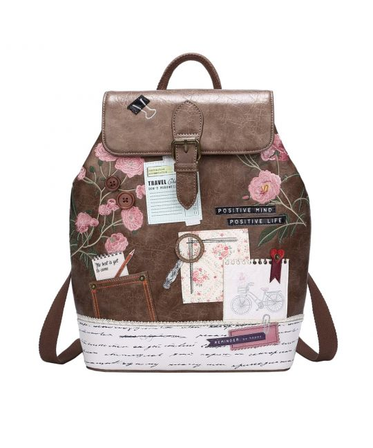Vintage Stationery Backpack