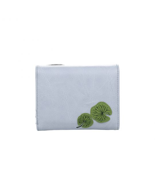 Water Lily Medium Flap Wallet